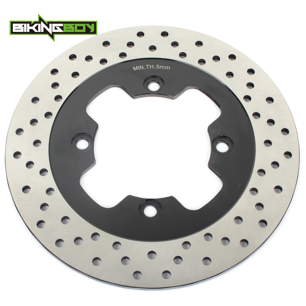 BIKINGBOY Rear Brake Disc 250mm Rotor for Kawasaki ZX 1100 ZX1100 Ninja ZX 11 ZX11 ZZR 1100 ZZR1100 D1-D9 1993-2001 00 99 98 97