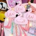 Креативный мультяшный плюшевый пенал фламинго  качественные розовые школьные принадлежности  канцелярские принадлежности  школьная Милая...