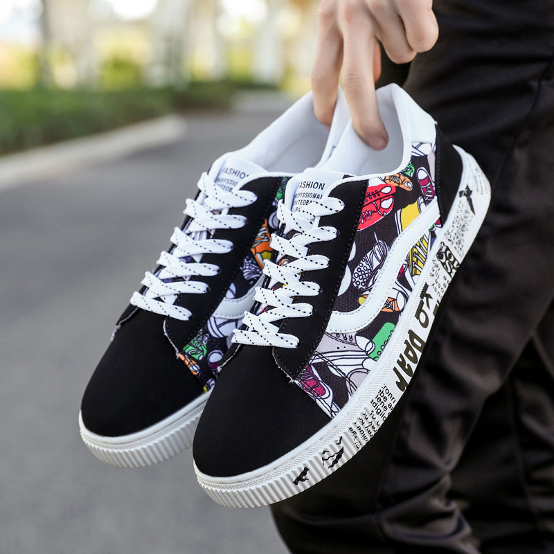Men Shoes Skateboarding Shoes Big Size 47 leather Sport Sneakers Outdoor Athletic Man Or Women Unisex Breathable Shoes Lace up 3