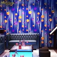 beibehang Ball Metal mural Wallpaper Roll Gold Foil PVC KTV Living Room Background Glitter Wall paper Wall Covering papier peint