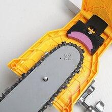 Affûteur de dents de scie à chaîne Portable Durable, facile à utiliser, montage à barre, affûteur rapide de chaîne de scie à chaîne