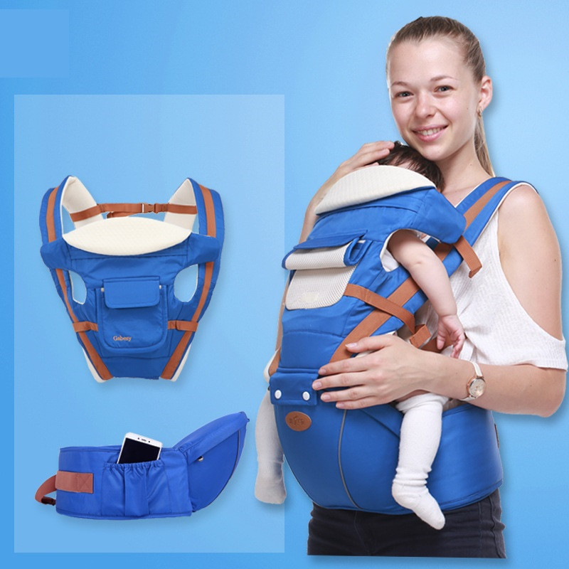 Dadyy&Mummy Baby Waist Stool Breathable Multifunctional Strap Four Seasons Cross Hold Baby Carrier Manufacturers Wholesale budou four seasons multifunctional baby suspenders newborn baby stool for children breathable suspenders belt