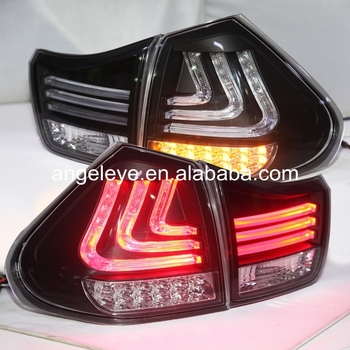Tail lights For Lexus for RX330 RX350 LED Rear Light  Black Housing Clear Cover 2004-2009 year SN