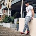 2016 осень мышцы упражнение Доктор Братья брюки продают как горячие пирожки штаны компрессионные колготки мужчины джастин бибер брюки М-2XL