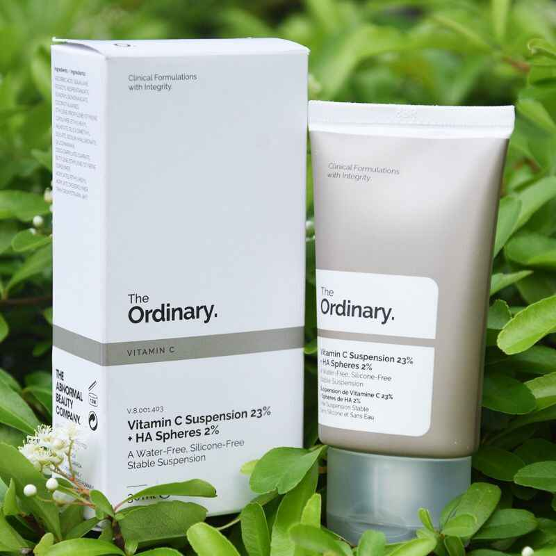 The Ordinary. Vitamin C Suspension 23% + HA Spheres 2% 30ml + Free Shipping
