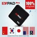EVpad Pro Hong Kong Corea Japón Malasia Taiwán IPTV OTT Android TV box/Set top Box se aplican a Bluetooth micrófono y GamePad