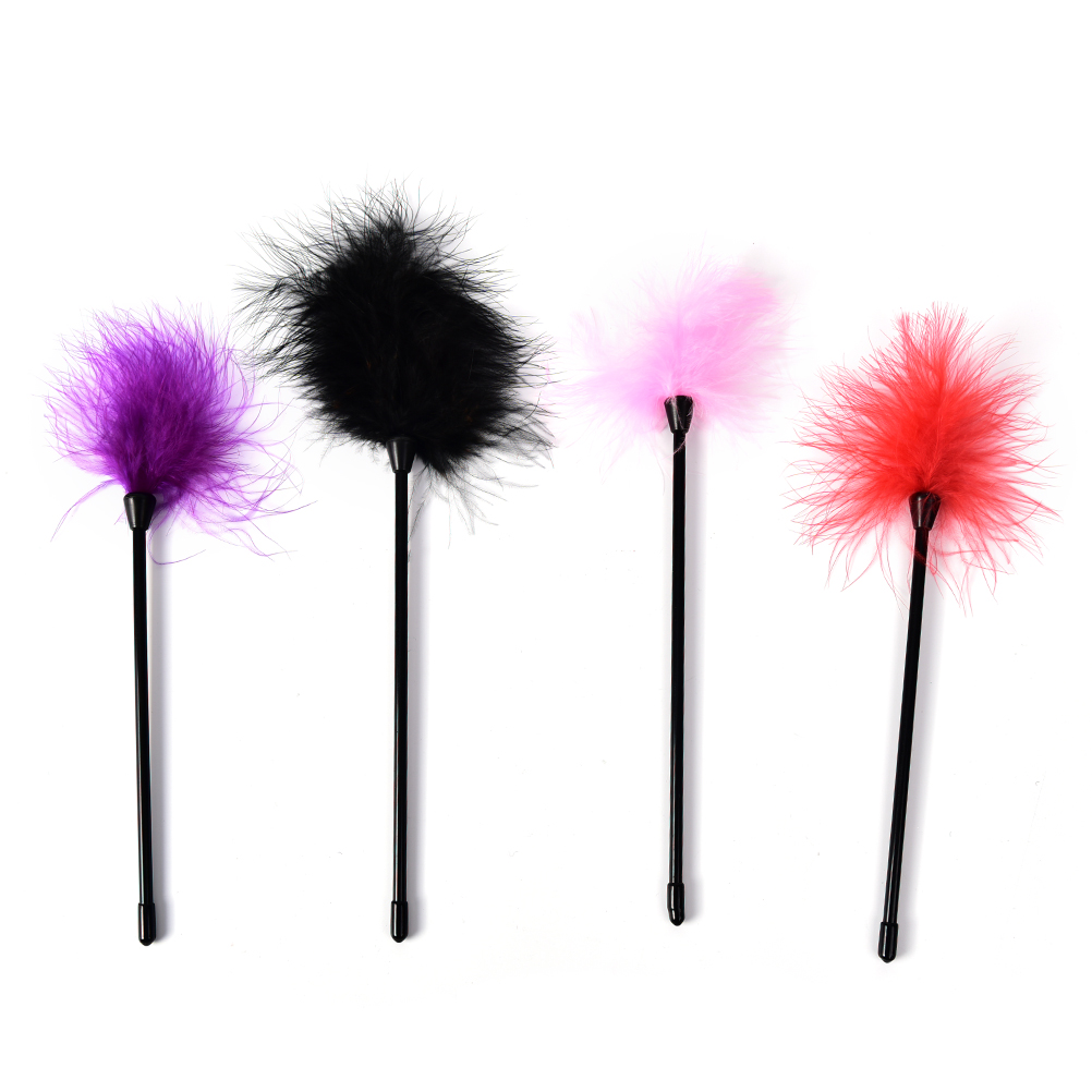 Feather Tickler Kinky Naughty Bondage Fancy Dress Whip Spanking Aid Toy Novelty&Gag Toys
