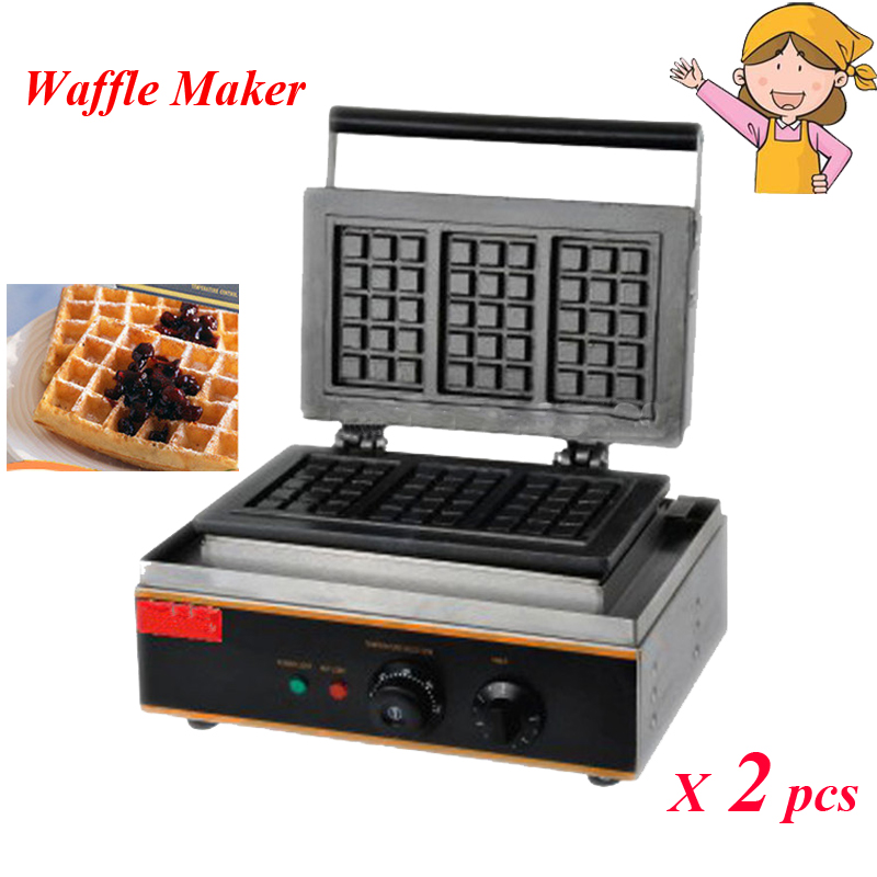 Electric Waffle Maker ~ Day delivery pcs lot electric waffle maker