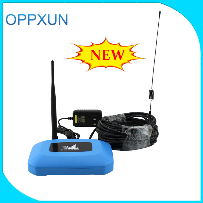GSM mobile signal booster 2G signal amplifier 900Mhz celluer repeater with indoor antenna and outdoor antenna for home office