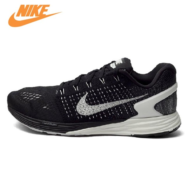 1198f2e86d97 Official New Arrival Authentic Nike LUNAR Glide 7 Men s Mesh Light Running  Shoes Sneakers Trainers