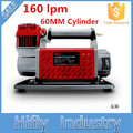 HF-16060 DC 12V 160L Heavy Duty Car Air Compressor 60MM Cylinder 160lpm Air Compressor ( CE ROHS certificate)