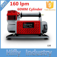 HF 16060 DC 12V 160L Heavy Duty Car Air Compressor 60MM Cylinder 160lpm Air Compressor ( CE ROHS certificate)