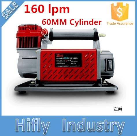 hf 16060 dc 12v 160l 60mm cilindro 160lpm heavy duty compressor de ar do carro compressor