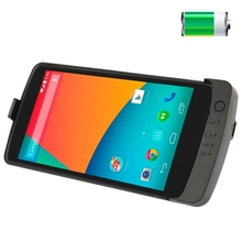 3800mAh Portable External Lithium polymer Battery Cover with Holder for LG Nexus 5 D820 D821 Battery