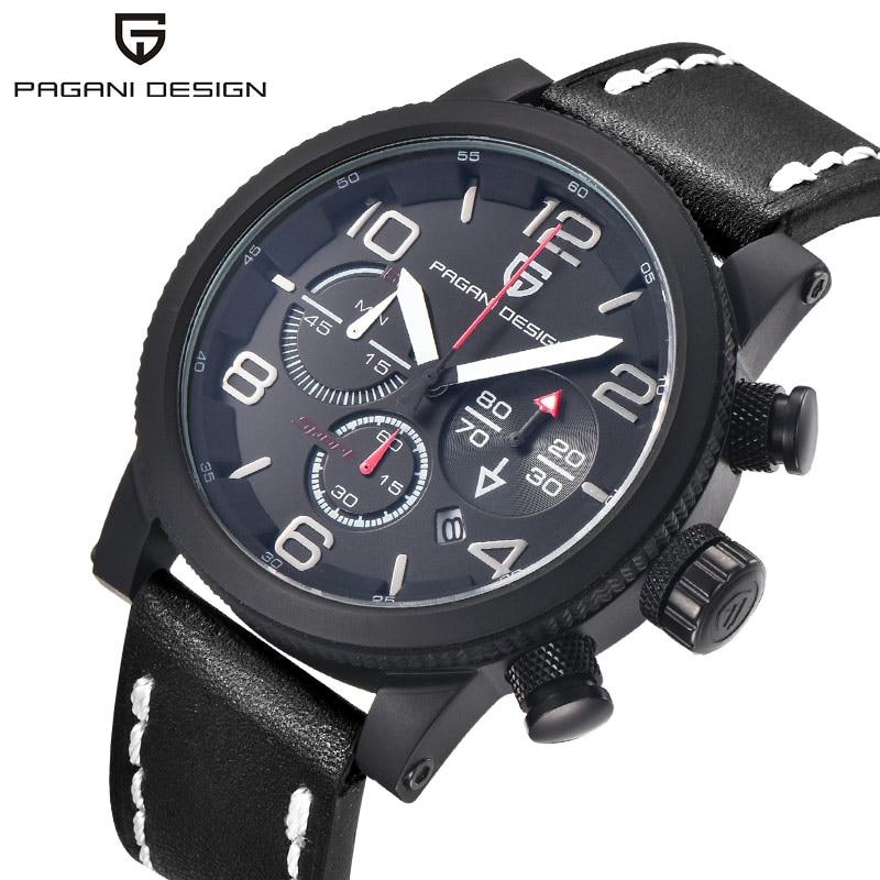 PAGANI DESIGN Brand Men Watch Men Quartz Wristwatch Waterproof Calendar Fashion Male Clock 2018 Relogio Masculino Hodinky New 46 все цены