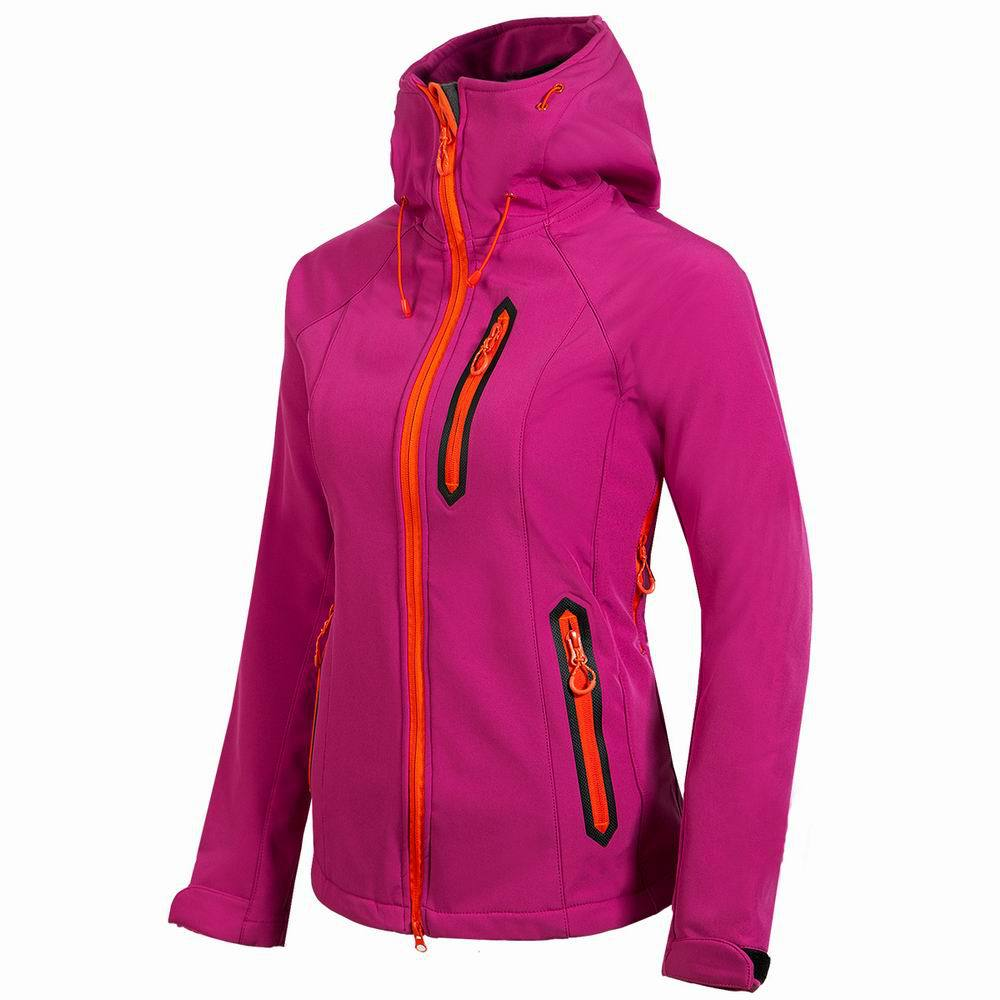 2019 hiver extérieur veste femme coupe-vent imperméable randonnée camping veste doux shell veste épais Trekking Ski polaire manteau