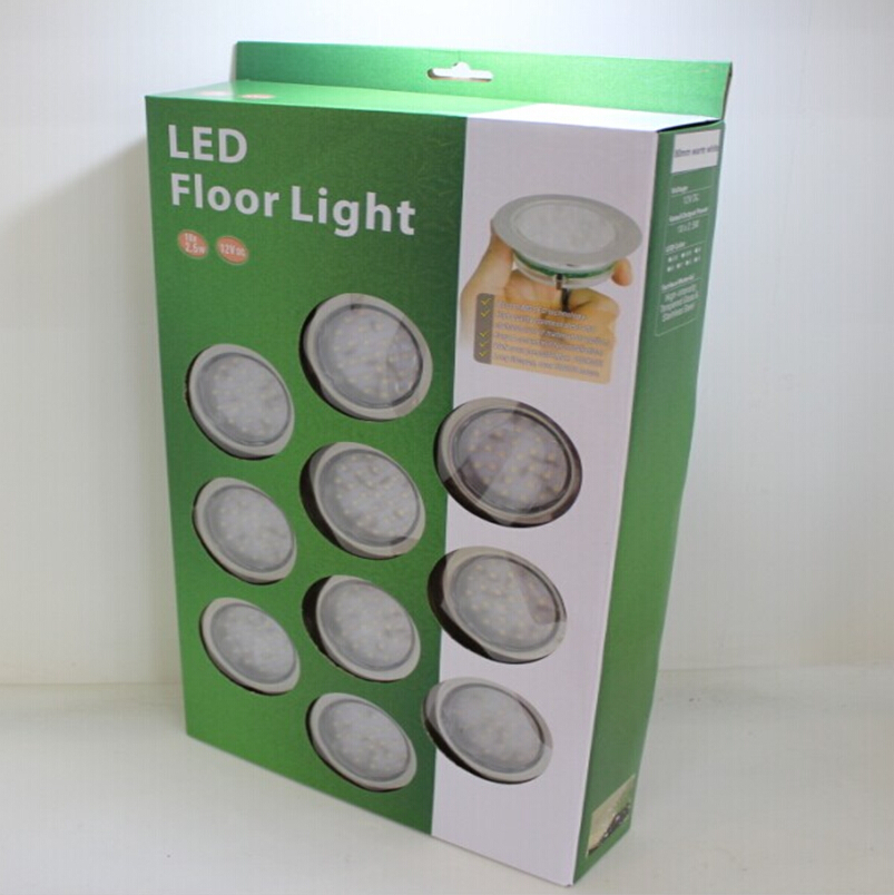 Dimmable LED Deck Floor Light Waterproof Underground Lamp Outdoors  Decoration Light Used For Deck Garden Steps Stairs Patio Pave In  Underground Lamps From ...