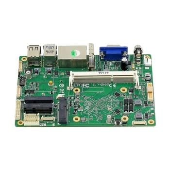 Intel Celeron J1900 Industrial Mini ITX Motherboard Dual NIC 6xCOM 8xUSB WiFi BT HDMI VGA Windows Linux Support 4G LTE SIM Card