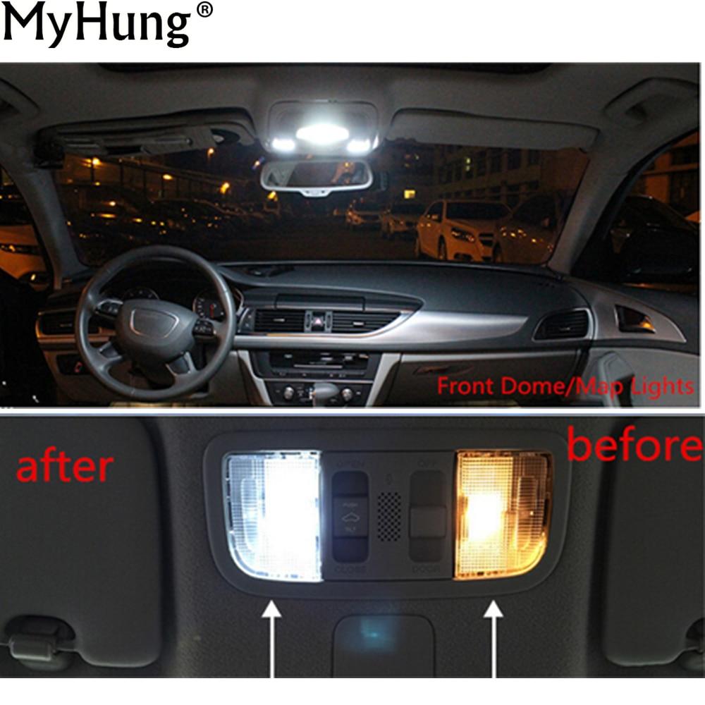 23pc white for Audi A4 S4 B6 B7 sedan avant Interior Bulb LED Light Kit 02-08