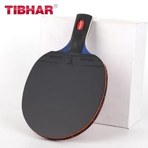 Image 5 - Tibhar פרו טניס שולחן מחבט להב גומי פצעונים פינג פונג מחבטי באיכות גבוהה עם תיק 6/7/ 8/9 כוכבים