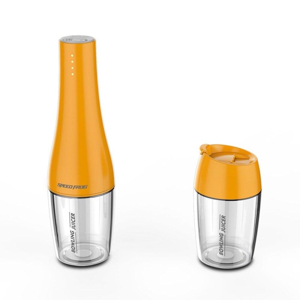 Creative Bowling Juicer Blender Portable Fruit Squeezer USB Charging Multifunction Juice Maker Machine 350ml Juicer Cup