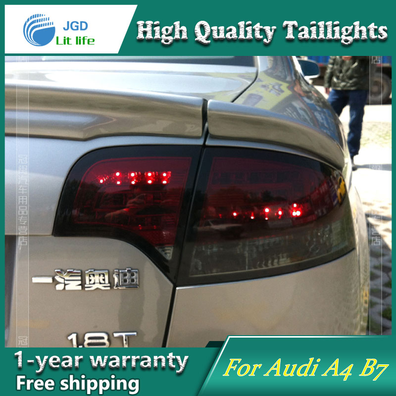 Car Styling Case for Audi A4 B7 Taillights Tail lights LED Tail Lamp Rear Lamp DRL+Turn Signal+Brake+Reverse stephen frey the successor