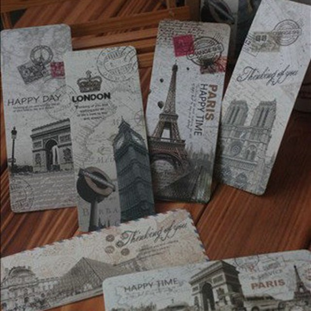 90 pcs bookmarks lot greeting card paper antique vintage gift world 90 pcs bookmarks lot greeting card paper antique vintage gift world heritage sites attractions landscape cn m4hsunfo