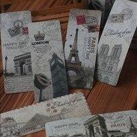90 PCS Signets papier de carte de voeux beaucoup antique vintage cadeau Sites Du Patrimoine Mondial attractions paysage CN post 016009003
