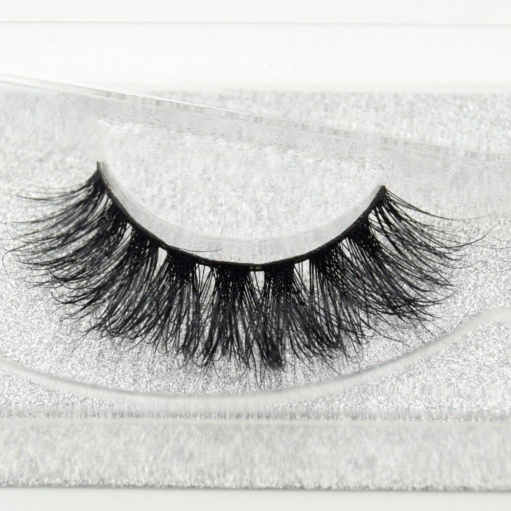 Image 2 - Visofree eyelashes 3D mink eyelashes long lasting mink lashes natural dramatic volume eyelashes extension false eyelashes D08-in False Eyelashes from Beauty & Health