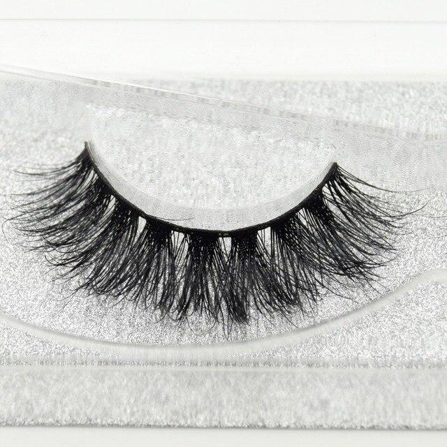 Visofree eyelashes 3D mink eyelashes long lasting mink lashes natural dramatic volume eyelashes extension false eyelashes D08 1