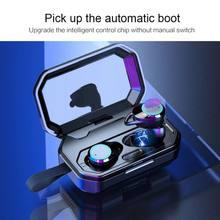 3D глубокий бас IPX7 наружные Беспроводные наушники с 3000 мА/ч, Мощность банка для IOS Android наушники-вкладыши 5,0 беспроводные наушники bluetooth