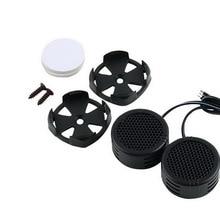 Universal High Efficiency 2x Car Mini Dome Tweeter Loudspeaker Loud Spe