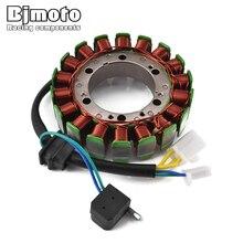 цена BJMOTO Motorcycle Coil Magneto Stator for Suzuki VL1500 Intruder LC 1998 1999 2000 2001 2002 2003 2004 32101-10F01 онлайн в 2017 году