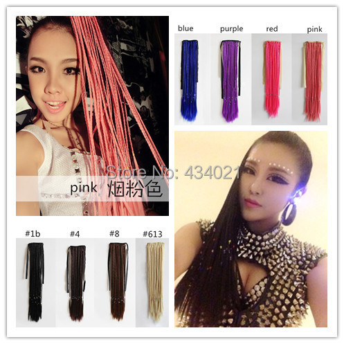 Fashion women synthetic plaits ponytails bohemia style hair fashion women synthetic plaits ponytails bohemia style hair extensions long straight woman braids pony tail hairpiece on aliexpress alibaba group pmusecretfo Gallery
