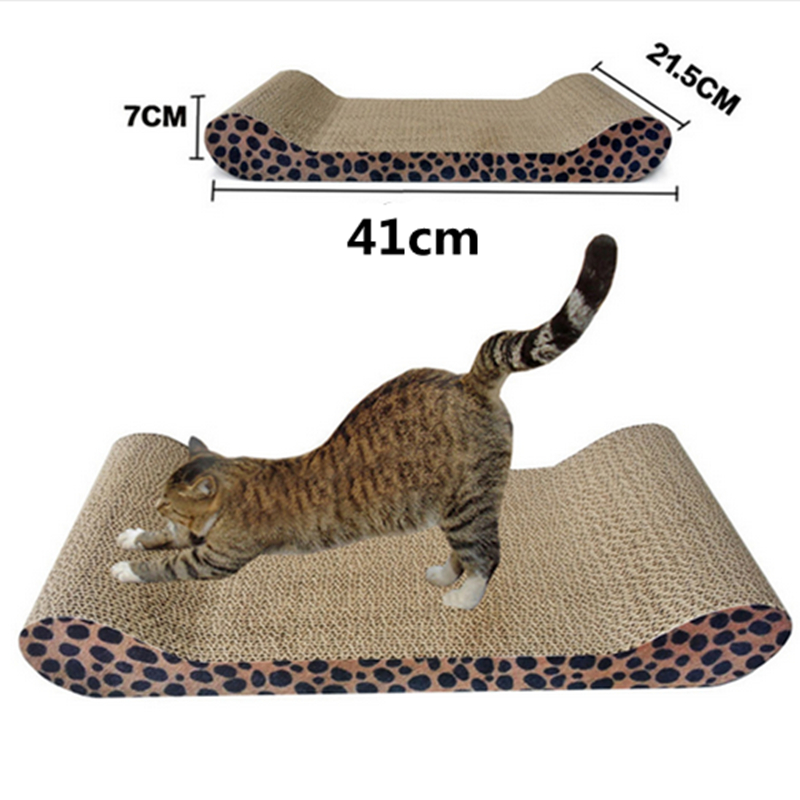 1pcs New Cat Claw Kitten Pet Scratcher Board With Catnip Sofa Scratcher Bed Lounge Toy Free Shipping