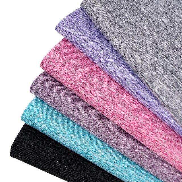 Спортивные тканевые 95% полиэстер 5% спандекс стрейч ткань для спорта и йоги летом, ткань для спортзала TJ1821