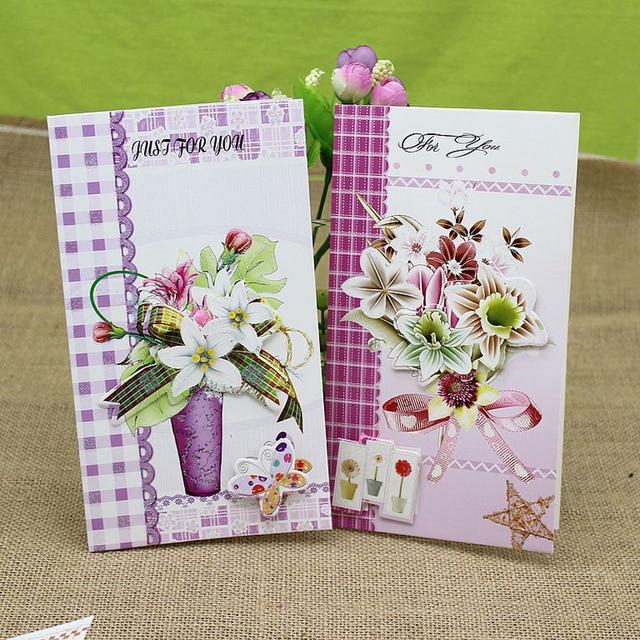 8 pieceslotcreative diy beautiful flowers daily greeting card 8 pieceslotcreative diy beautiful flowers daily greeting card mothers day greeting m4hsunfo