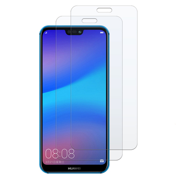 2pcs Tempered Glass for Huawei Honor 10i 8A 10 Lite 8C 8X Play P20 P30 Pro P Smart 2019 Protective Film Screen Protector 1