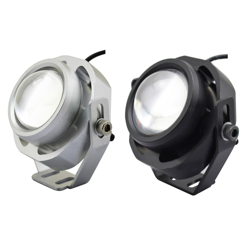 1 pair 1000LM 10W Car DRL Eagle Eye Light LED Fog Lights Daytime Running Light Reverse Parking Light Lamp IP67 waterproof  1 pair 2000lm 20w cree chips drl led eagle eye car fog daytime running reverse backup parking light lamp ip67 waterproof