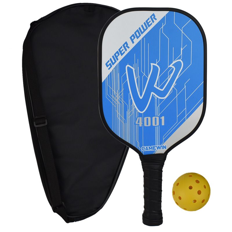CAMEWIN 4001 Carbon Pickleball Paddle Racquet Racket Thin & Quick At Net