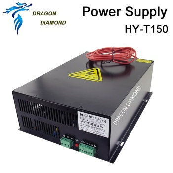цена на 150W CO2 Laser Power Supply HY-T150 T/W Series AC220V/110V For CO2 Laser Engraving Machine