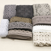 Random Delivery High Quality Mixed Color Cotton Lace Lace Sewing Home Furnishing Garment Accessories DIY Material