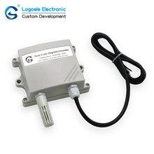 лучшая цена Three in one sensor controller 485 output temperature and humidity CO2 transmitter sensor