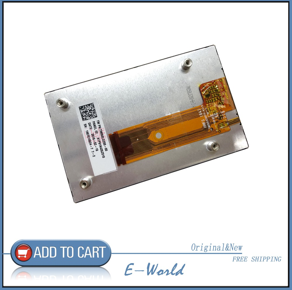 Enthusiastic Original 5inch Lcd Screen Tm050ldz00 Fp-4 U-5 Tm050ldz00fp-4u-5 Free Shipping