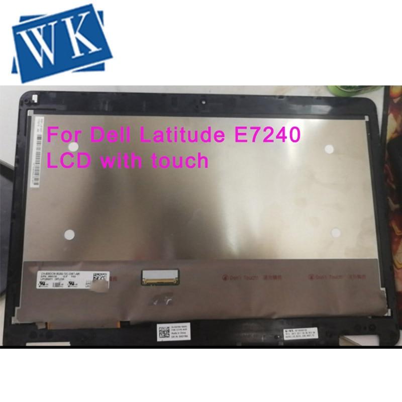 Per Dell Latitude E7240 a Cristalli Liquidi di Tocco Digitale Dello Schermo di 12.5