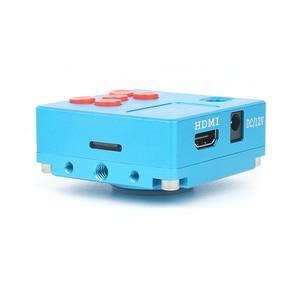 Image 3 - 30MP 2K HDMI Dijital USB Video Microscopio Kamera 3D 180X 300X ayarlanabilir C Montaj lens Led ışıkları lehimleme telefon pcb tamir