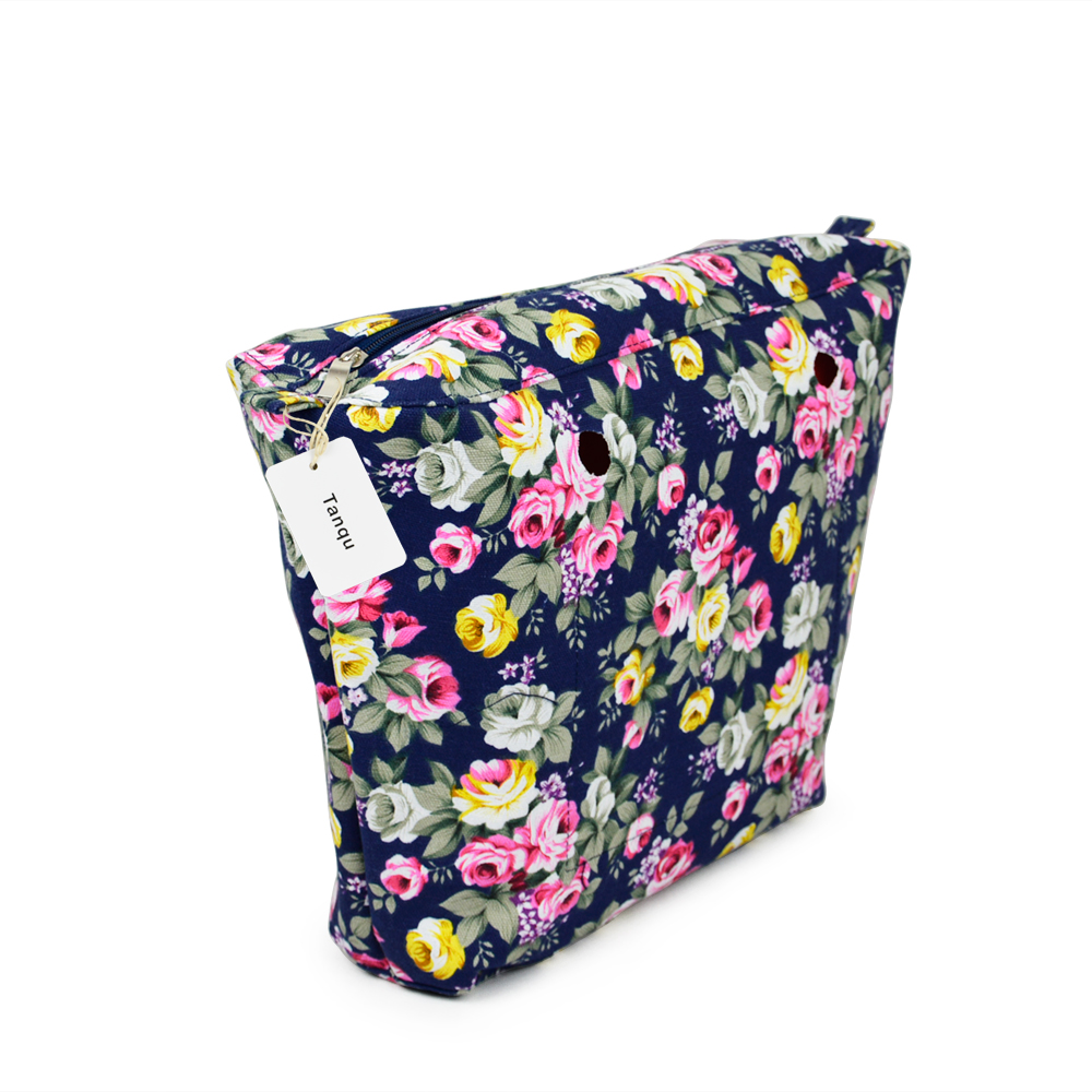 Image 5 - TANQU New Colorful Waterproof Inner Lining Insert Zipper Pocket for Classic Obag Canvas  Inner Pocket for O Bagobag pocketnew bagcolorful bag -