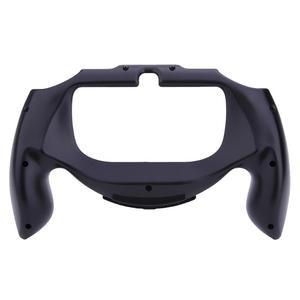 Image 5 - المضادة للانزلاق البلاستيك قبضة مقبض حافظة حامل قوس الغطاء الواقي لعبة اكسسوارات لسوني PSV PS Vita 1000 تحكم