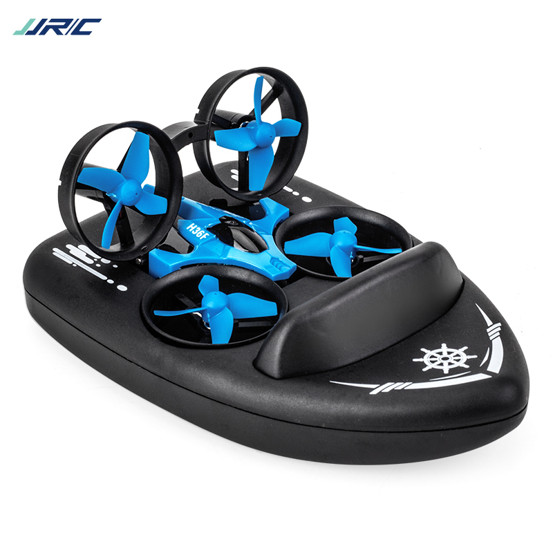 JJRC H36f Rc Mini Quadcopter+ Boat 2.4g 4ch 6-axis Speed 3d Flip Headless Mode Rc Drone Toy Gift Present(China)