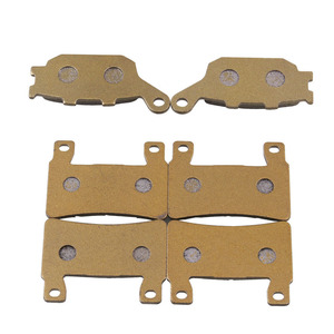 Image 5 - 6 Pieces Front And Rear Disc Brakes Motorcycle Parts High Temperature Brake Pad Groove For CBR 600 F4 F4i Motorcycle Accessories